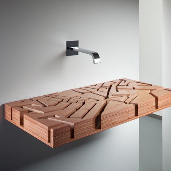 wood sink Archives - DigsDi