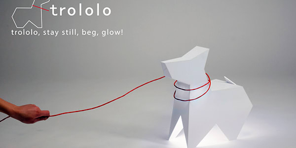 This Dog-Shaped Lamp Acts Like Man's Best Friend | Compl