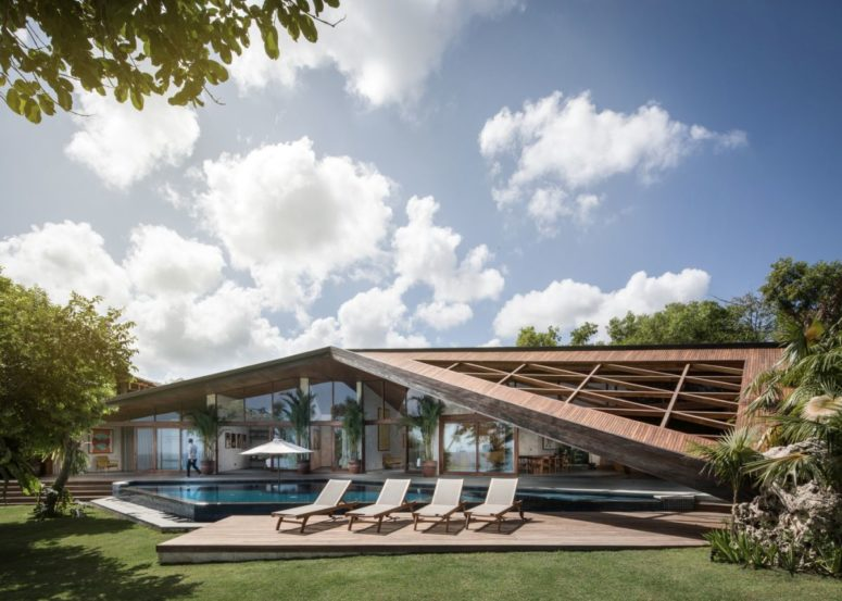 tropical house design Archives - DigsDi