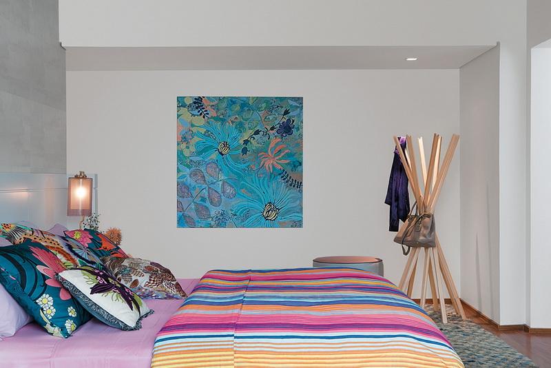ATTBDFTWLBC50 | Astonishing Tropical Themed Bedroom Design For .