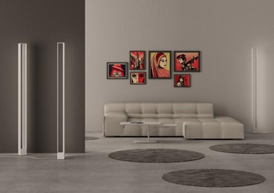 Tru Floor Lamp: Disappearing Light Object - DigsDi