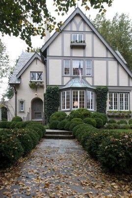 Linda Bond's house | Tudor house exterior, Tudor style homes .