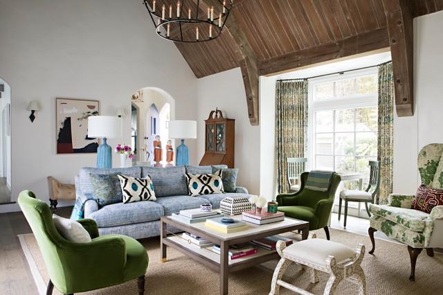 Houzz Tour: Tudor-Style Home Updated for Modern Family Li