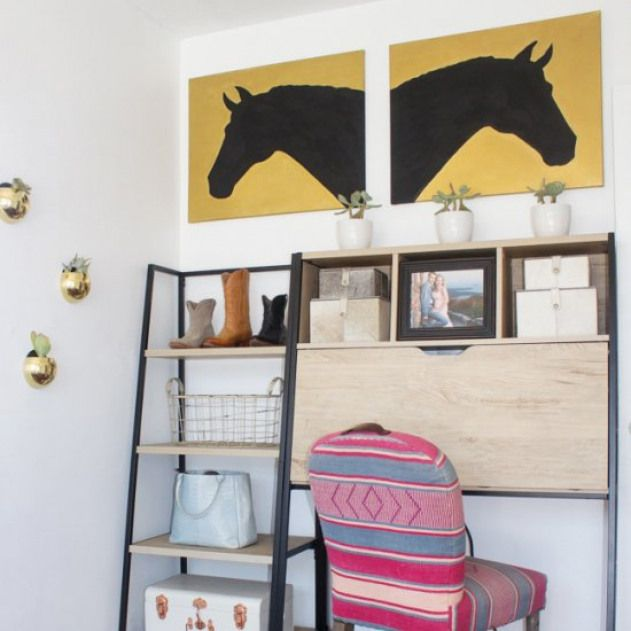 Tour A Blogger's Equestrian Office. A blogger's equestrian .