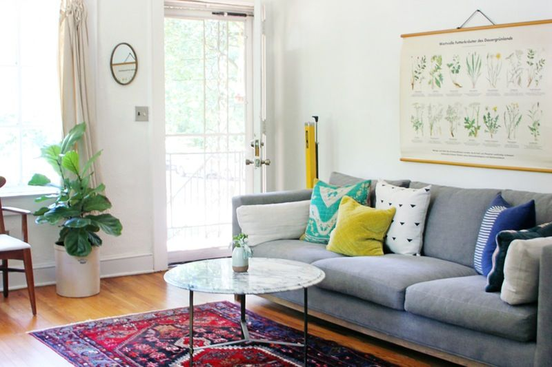 Sweet, Functional Style in a Small 1950s Asheville Home   Rooms .