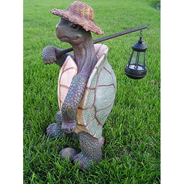 Ebros Gift Nautical Nature Lover Adventure Hiking Tortoise with .