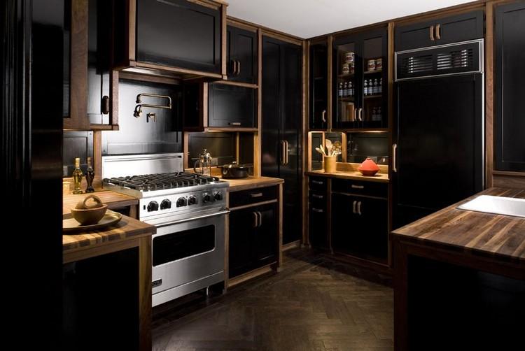 14 Ultimate Black Kitchen color Ideas For 20