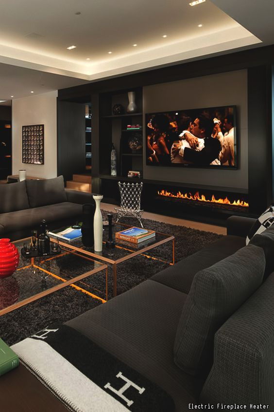 10 Must-Have Items For The Ultimate Man Cave | Home, House design .