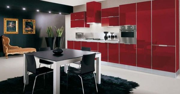 Ultra Glossy and Sleek Kitchen Design - Crystallo from Arrex .