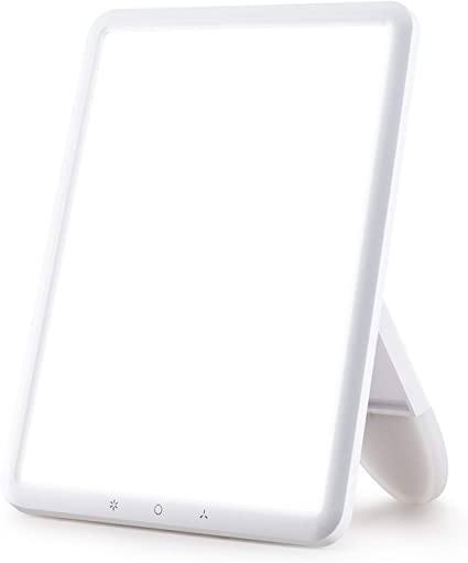 Amazon.com: VIPEX Light Therapy Lamp Ultra-Thin 10000 Lux with .
