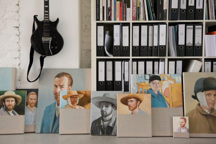 Uncluttered Artist's Loft Design In Neutral Colors - DigsDi