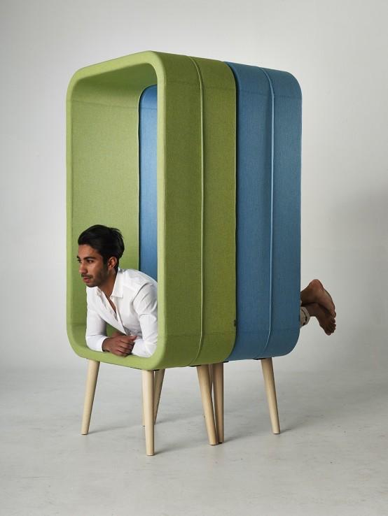 Unconventional Chair Design: Frame By Ola Giertz - DigsDi