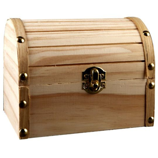 Medium Wooden Domed Box by ArtMinds® | Painting wooden furniture .