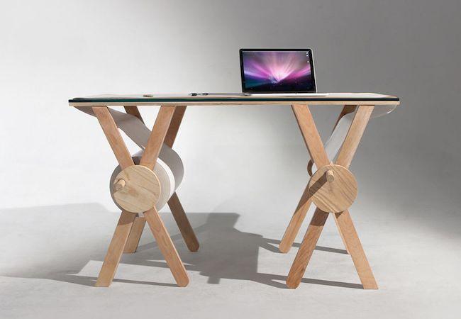 Analog Memory Desk by Kirsten Cama