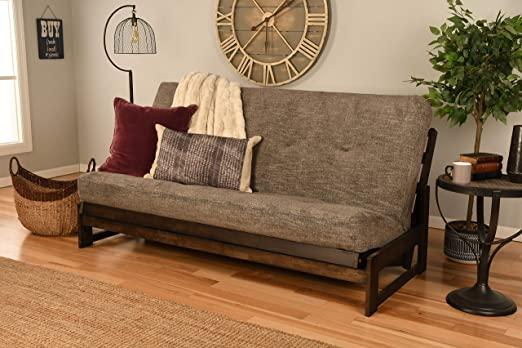 Amazon.com: Kodiak Furniture Aspen Full-Size Futon Set in Reclaim .