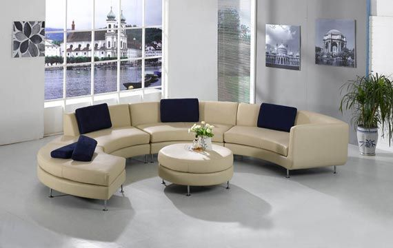 large round curved sofa sectional   ... the Versatile and Unique .