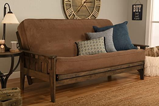 Amazon.com: Kodiak Furniture Tucson Full Size Futon Set In Rustic .