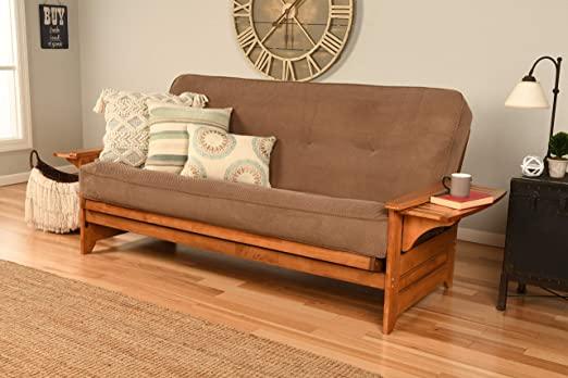 Amazon.com: Kodiak Furniture Phoenix Futon Set with Marmont Mocha .