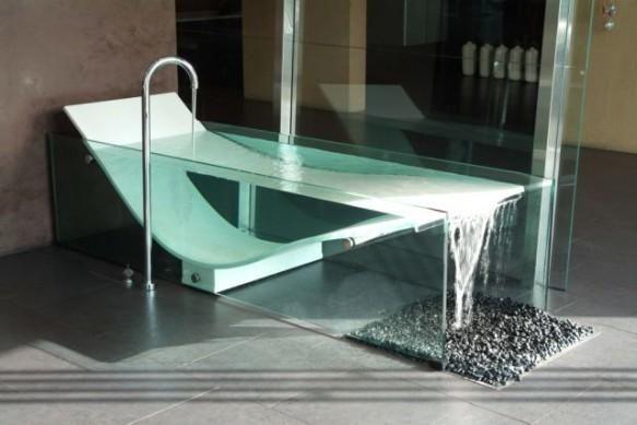 Tub Like Infinity Pool Le Cob Glass Bathtub Unique Bathtubs .