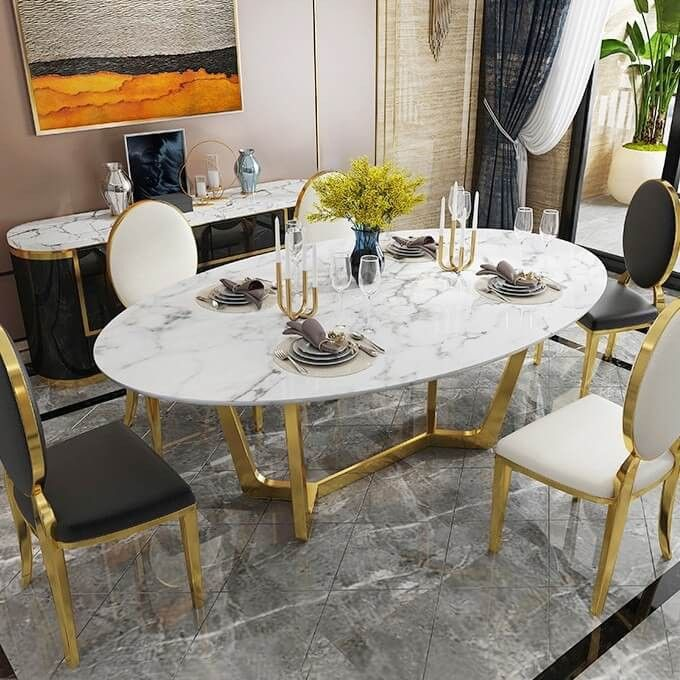 Unique Dining Tables To Make The Space Spectacular To see more .