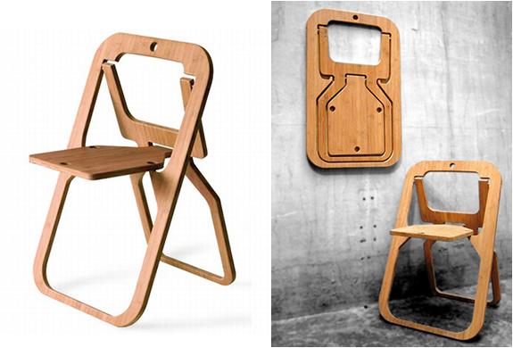 Desile Folding Chair | By Christian Desi