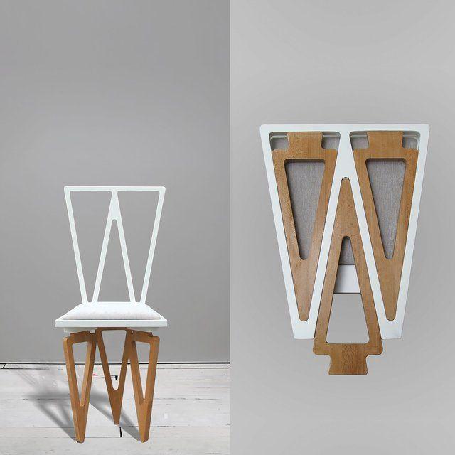 Fancy | Triangle Solid Wood Folding Chair More | Sillas diseño .