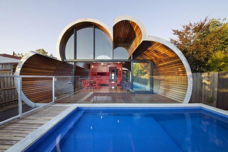 Modern and Unique House with Cloud-like Shape – Cloud House - The .