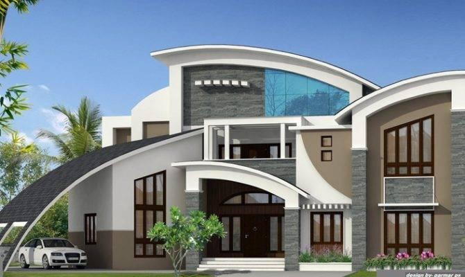 Unique House Design - House Plans   #128