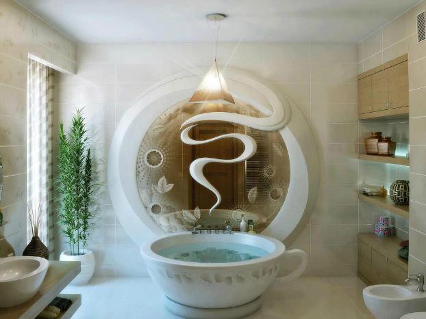 21 Unique Bathroom Designs   Decohol