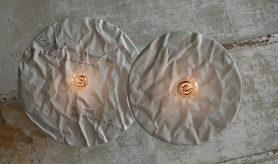 Unique Karman Lamps Collection From Ceramics And Lace - DigsDi