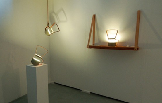 Unique Lanterns: Nomadic Lamps From Leather And Concrete - DigsDi