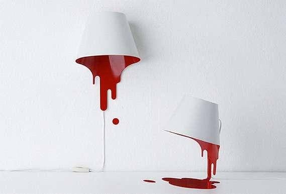 Paint-Oozing Lights : Liquid La