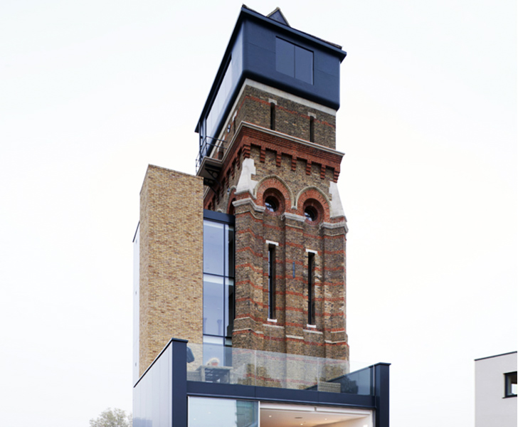 19th Century London Water Tower Transformed into a Unique, High .