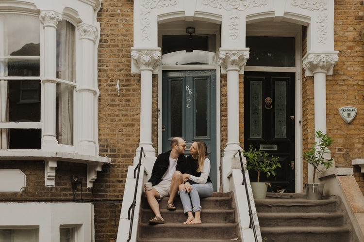 At Home: An East London Morning with Sim & Flo — Alba Turnbu