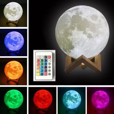 3D Moon Lamp The Most Unique Lamp - Ledmoonlamp.c