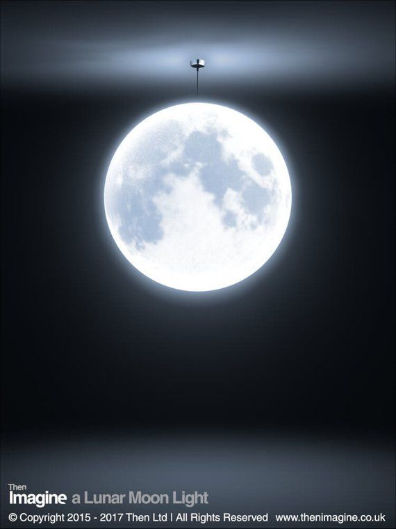 A Lunar Moon Ceiling Pendant Light Shade Unique gift | Pendant .