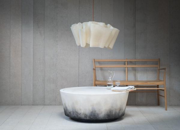 Table Referencing Lava Strata, Stone & Weather - Design Mi