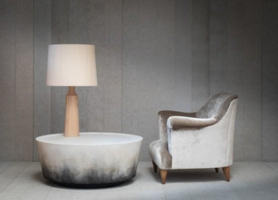 Unique Nim Table Inspired By Lava Strata And Stone - DigsDi