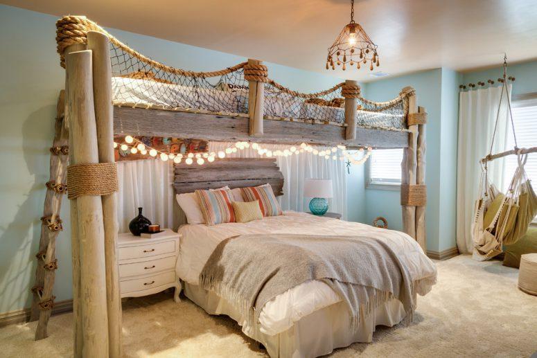 49 Beautiful Beach And Sea Themed Bedroom Designs - DigsDi