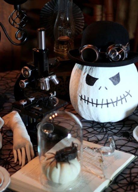 44 Unique Steampunk Halloween Decorating Ideas | Unique halloween .