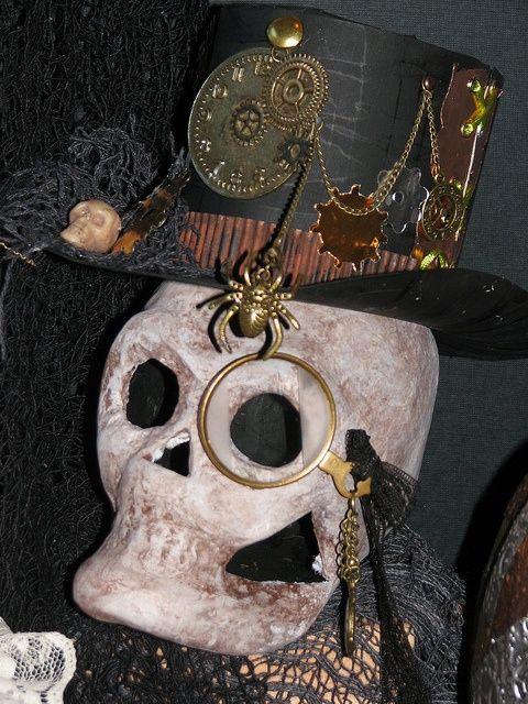 44 Unique Steampunk Halloween Decorating Ideas | Steampunk .