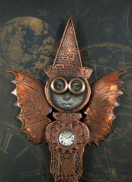 44 Unique Steampunk Halloween Decorating Ideas - DigsDi
