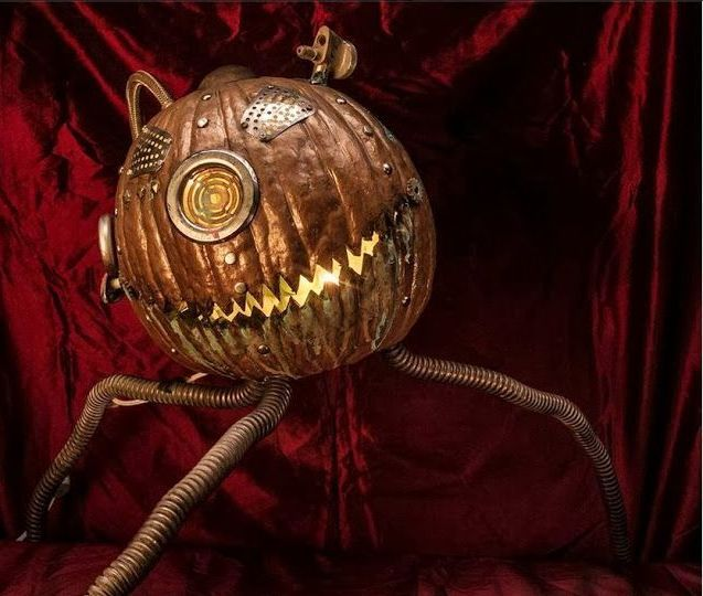 44 Unique Steampunk Halloween Decorating Ideas | DigsDigs | Unique .