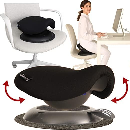 Amazon.com: Portable Saddle Stool - Make Any Chair a Swinging .