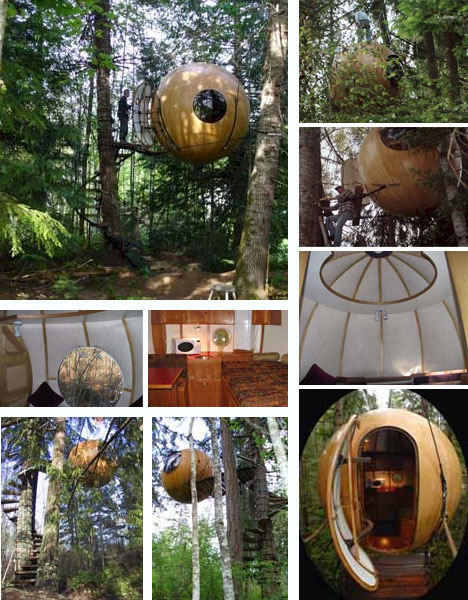 10 Amazing Tree Houses: Plans, Pictures, Designs, Ideas & Kits .