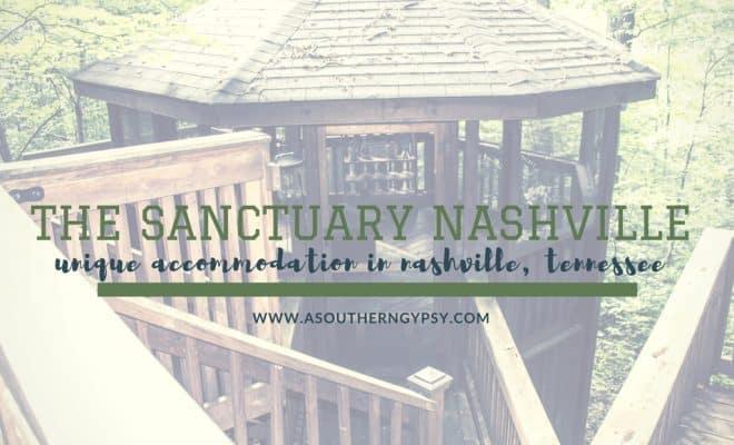 Unique Accommodation in Nashville | The Sanctuary Treehouse Cabin .