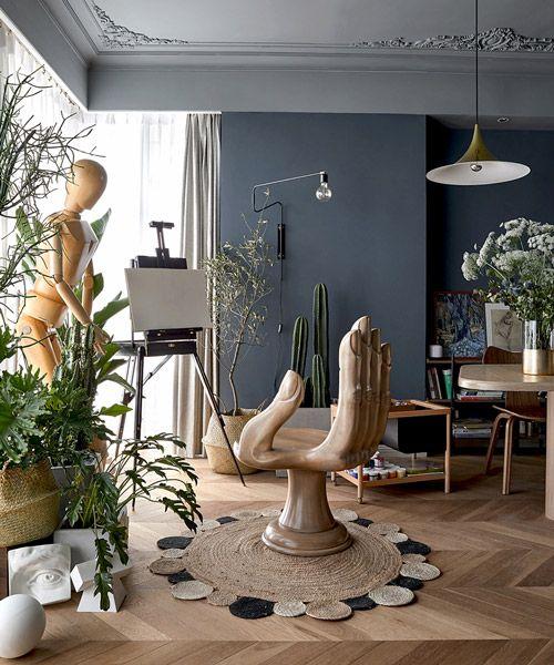 muxin studio designs shanghai apartment in unique and .
