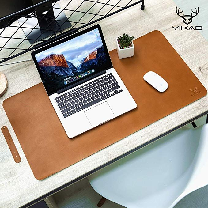 Yikda Extended Leather Gaming Mouse Pad/Mat, Large Office Writing .