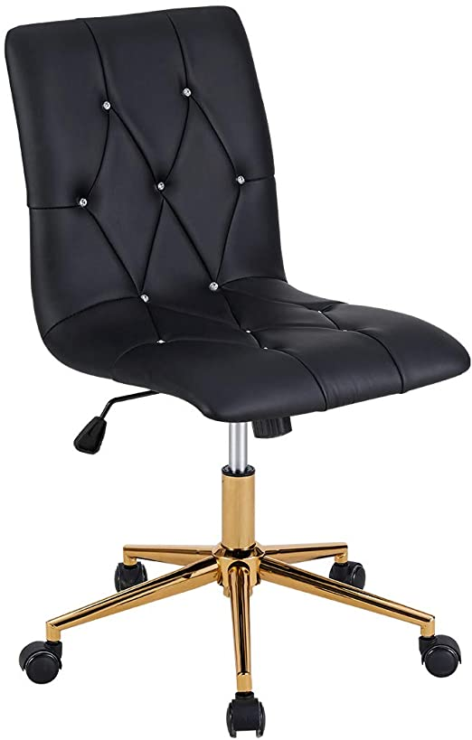 Amazon.com: Duhome Home Office Chair, Armless Office Chairs High .
