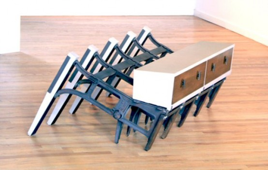 Unusual Furniture Collection Of Discarded Materials - DigsDi